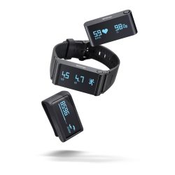 Withings Pulse Ox black Activity Tracker für iOS und Android Bild0