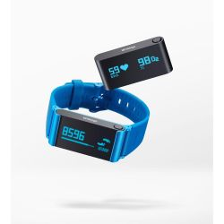 Withings Pulse Ox blue Activity Tracker für iOS und Android Bild0