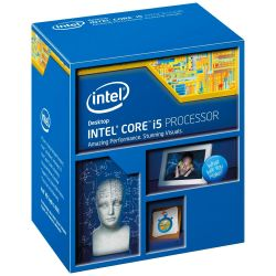 Intel Core i5-4590 4x3.3GHz 6MB-L3 Turbo/IntelHD Sock1150 (Haswell) BOX Bild0