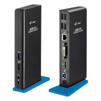 i-tec USB 3.0 Dual Docking Station HDMI/ DVI Full HD+ 2048x1152 Gigabit Ethernet