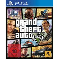 GTA - Grand Theft Auto 5 - PS4 FSK18
