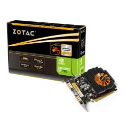 Zotac GeForce GT 730 2GB DDR3 PCIe Grafikkarte 2x DVI/HDMI/VGA (via Adapter) Bild0
