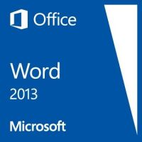 Microsoft Word 2013 Win Open-NL 1 PC SA