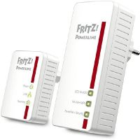 AVM FRITZ!Powerline Set 540E 500MBit WLAN Ethernet HomePlug AV-Adapter