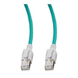 Good Connections Patchkabel Cat. 6A halogenfrei leuchtende Stecker grün 1m Bild0