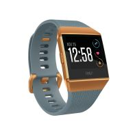 Fitbit Ionic Gesundheits- und Fitness-Smartwatch slate blue/burnt orange