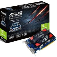 Asus GeForce GT 730 4GB DDR3 PCIe Grafikkarte DVI/HDMI/VGA
