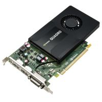 PNY Quadro K2200 4GB GDDR5 PCIe 2xDP/DVI - Retail Single-Slot Profile