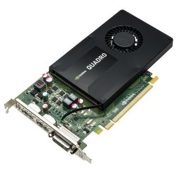 PNY Quadro K2200 4GB GDDR5 PCIe 2xDP/DVI - Retail Single-Slot Profile Bild0