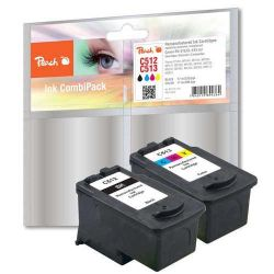 Peach PI100-160 Tinten-Multipack kompatibel Canon PG-512, CL-513 MP240 Bild0