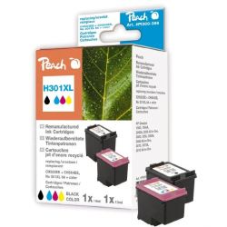 Peach PI300-399 Tinten-Multipack kompatibel HP CH563EE No 301XL/CH564EE No301XL  Bild0