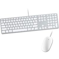 Apple Mouse + Apple Keyboard mit Ziffernblock