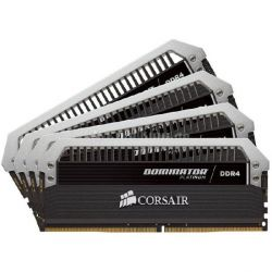 16GB (4x4GB) Corsair Dominator Platinum DDR4-2666 CL15 (15-17-17-35) DIMM-Kit  Bild0