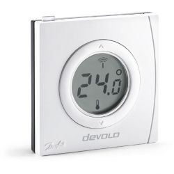 devolo Home Control Raumthermostat (Smart Home, Z Wave, Hausautomation, Sensor)  Bild0