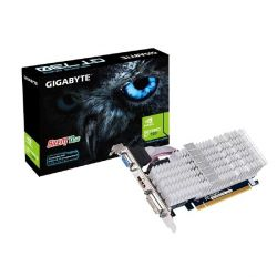 Gigabyte GeForce GT 730 2GB DDR3 DVI/HDMI/VGA Low Profile Grafikkarte passiv Bild0