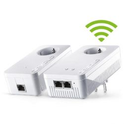devolo dLAN 1200+ WiFi ac Starter Kit (1200Mbit, 2er Kit, Powerline + WLAN ac) Bild0