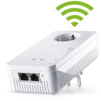 devolo dLAN 1200+ WiFi ac (1200Mbit, Powerline + WLAN ac, 2xGB LAN, Steckdose)