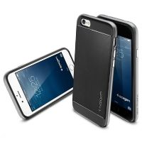 Spigen Backcover Neo Hybrid für Apple iPhone 6/6s Plus gun metal