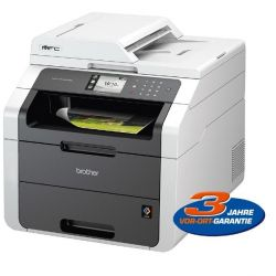 Brother MFC-9142CDN LED-Farblaser-Multifunktionsdrucker Scanner Kopierer Fax LAN Bild0