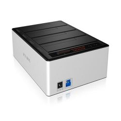 RaidSonic Icy Box IB-141CL-U3 4fach Docking Station für HDD USB 3.0 Bild0