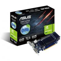 Asus GeForce G 210 SL-TC1GD3-L 1GB DDR3 DVI/VGA/HDMI Low Profil passiv