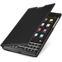StilGut Leder Book Typ für BlackBerry Passport schwarz