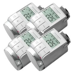 Honeywell 4er Set HR25-Energy Programmierbarer Heizkörperthermostat Bild0