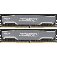 8GB (2x4GB) Ballistix Sport DDR4-2400 CL16 (16-16-16) RAM - Kit