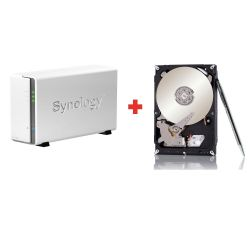 Synology Diskstation DS115j NAS System 2TB inkl. 1x 2TB Seagate Surveillance HDD Bild0