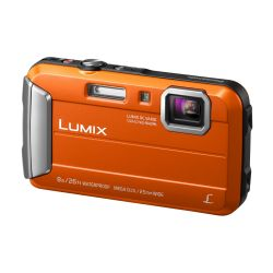 Panasonic Lumix DMC-FT30 Unterwasserkamera orange Bild0