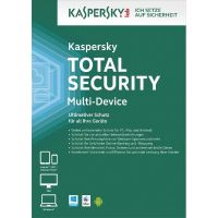 Kaspersky Total Security Multi-Device 1 Gerät 2 Jahre Abonnement Upgrade Lizenz