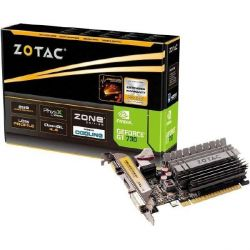 Zotac GeForce GT 730 Zone Edition 2GB DDR3 Grafikkarte LP DVI/HDMI/VGA Bild0