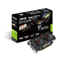 Asus GeForce GTX 750Ti STRIX OC Direct CUII 4GB GDDR5  DVI/HDMI/DP Grafikkarte