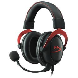 HyperX Cloud II Headset Red PC/Mac/PS4/XBOX One Bild0