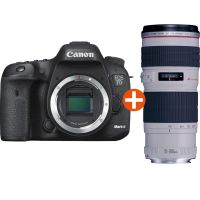 Canon EOS 7D Mark II Kit EF 70-200mm f/4.0L IS USM Spiegelreflexkamera *Cashback