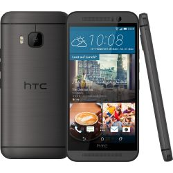 HTC One M9 gunmetal gray Android Smartphone Bild0