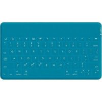 Logitech Keys-To-Go Ultramobile  Bluetooth Tastatur für iOS Grünblau 920-006876