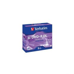 Verbatim 8x DVD+R Double Layer 8,5GB 5er JewelCase Bild0