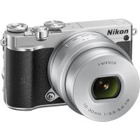 Nikon 1 J5 Kit 10-30mm PD-Zoom Systemkamera silber