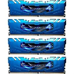 16GB (4x4GB) G.Skill Ripjaws 4 DDR4-3000 CL15 (15-15-15-35) RAM DIMM Kit Bild0