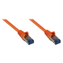 Good Connections Patchkabel Cat. 6a S/FTP, PiMF halogenfrei 500MHz orange 2m Bild0