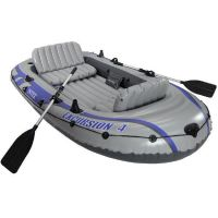 INTEX 68324 4 Personen Boot -Set Excursion 4 , Komplettset 315 x 165 x 43 cm