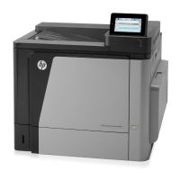 HP Color LaserJet Enterprise M651dn Farblaserdrucker LAN