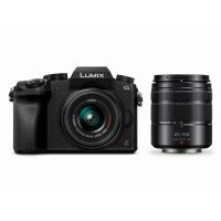 Panasonic Lumix DMC-G70 Kit 14-42mm + 45-150mm Systemkamera