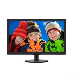 "Philips 223V5LSB/00 54,6 cm (22"") 16:9 Full HD Monitor VGA/DVI 5 ms 10Mio:1 Bild0"