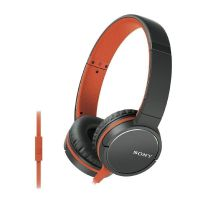 Sony MDR-ZX660AP On Ear Kopfhörer mit Headsetfunktion - Orange