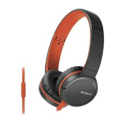 Sony MDR-ZX660AP On Ear Kopfhörer mit Headsetfunktion - Orange Bild0