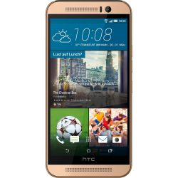 HTC One M9 gold on gold Android Smartphone Bild0
