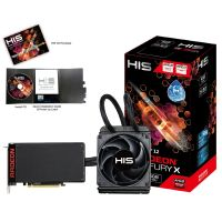 HIS AMD Radeon R9 Fury-X 4GB HBM Grafikkarte HDMI/3x DP