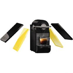 Krups XN 3020 Nespresso Pixie Clips Black & Electric Lemon Bild0